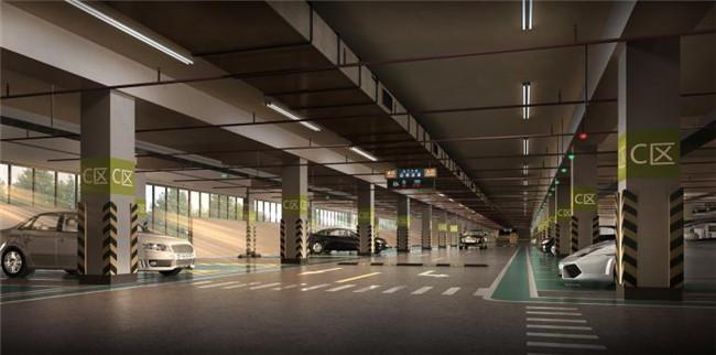昌南拓展区地下社会停车场项目