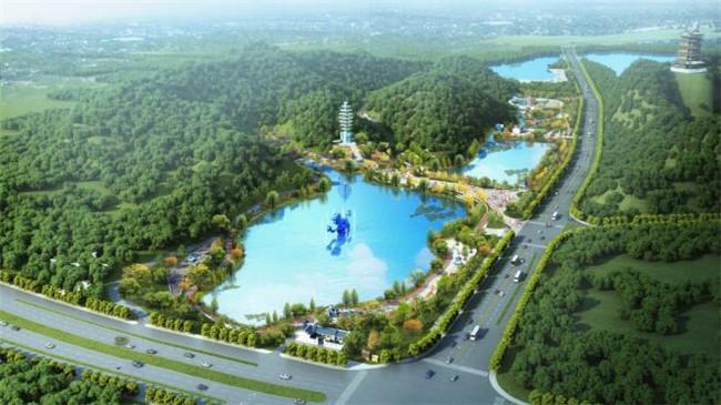 昌南片区景观生态综合提升改造工程