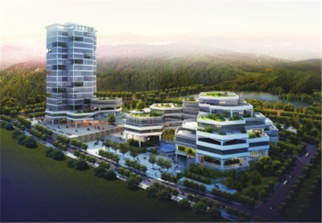 景德镇学院搬迁后行政区改建工程(景德镇发展中心)
