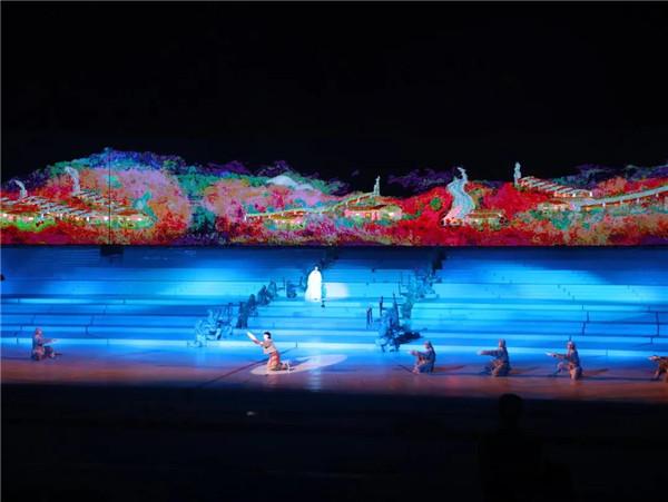 2021年全省旅发大会第一次预演走进城投集团项目